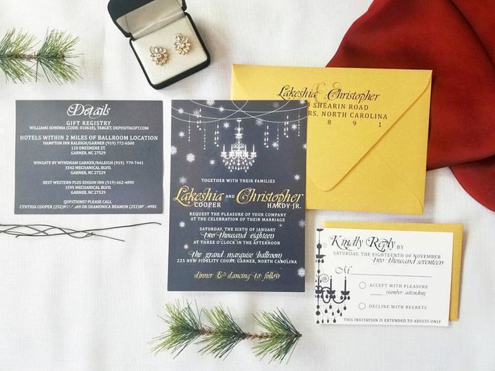 Tmx 1508860908806 Wedding 1 Durham wedding invitation