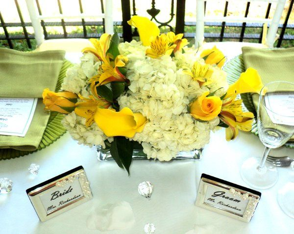 Flower centerpiece