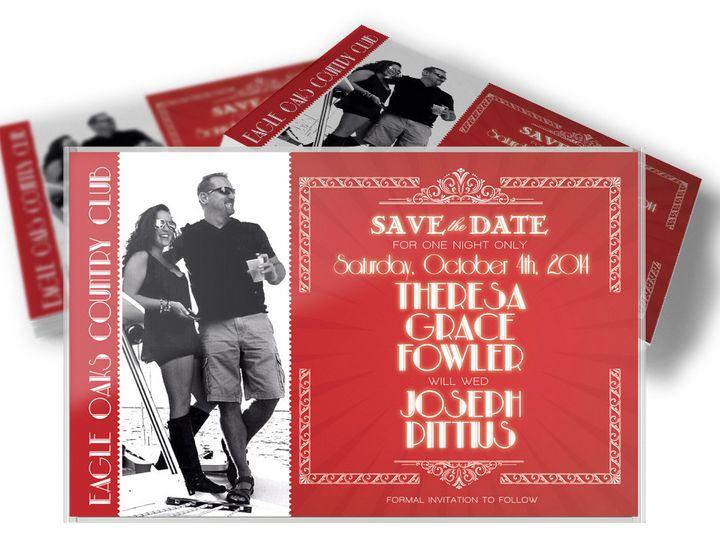 Tmx 1416333496236 Savethedatefowler West Long Branch wedding invitation