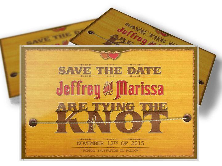 Tmx 1416333512207 Savethedateknot1 West Long Branch wedding invitation