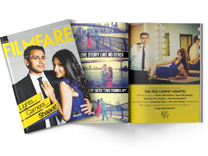 Tmx 1477758723384 Portfolio Bollywood Wedding Magazine Collection 3 West Long Branch wedding invitation