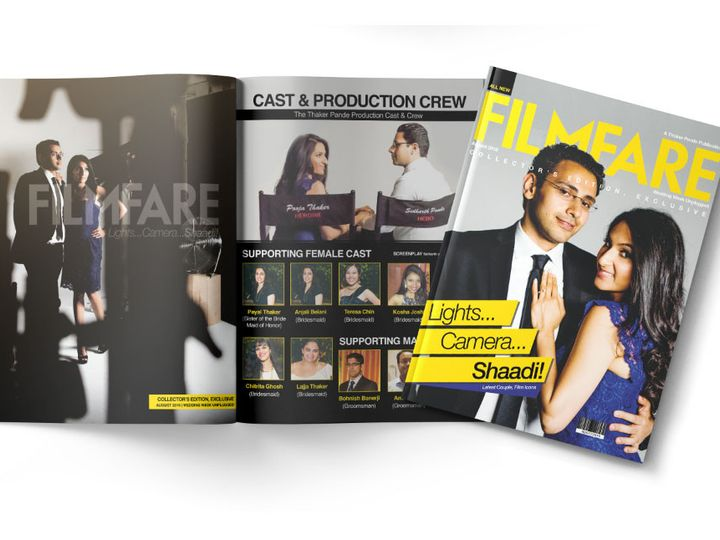 Tmx 1477758732181 Portfolio Bollywood Wedding Magazine Collection 4 West Long Branch wedding invitation