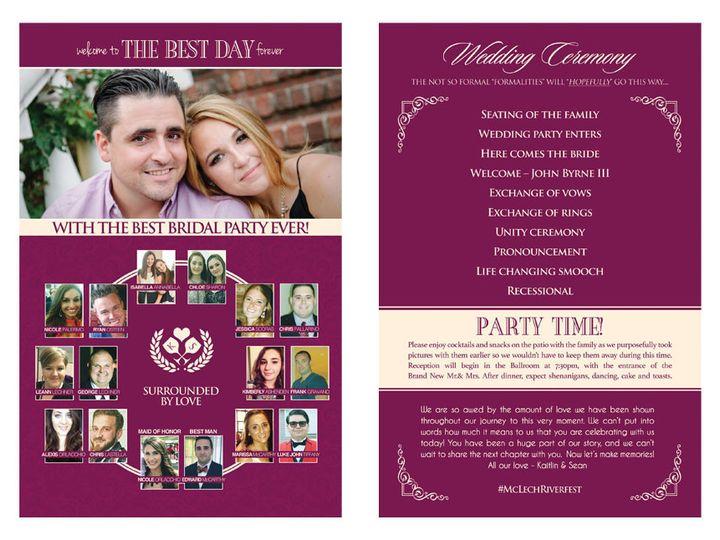 Tmx 1477758835056 Portfolio Love Wine Spirits Wedding Pocket Invitat West Long Branch wedding invitation
