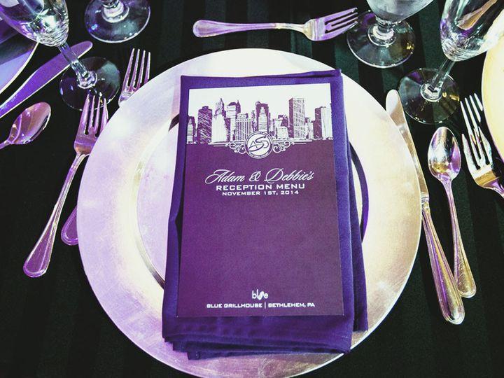 Tmx 1477758865880 Portfolio Skuba Nyc Reception Menu 1 West Long Branch wedding invitation