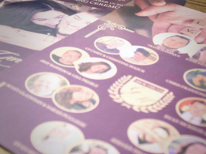 Tmx 1511323969385 Game Of Thrones Wedding Purple Gold 4 West Long Branch wedding invitation