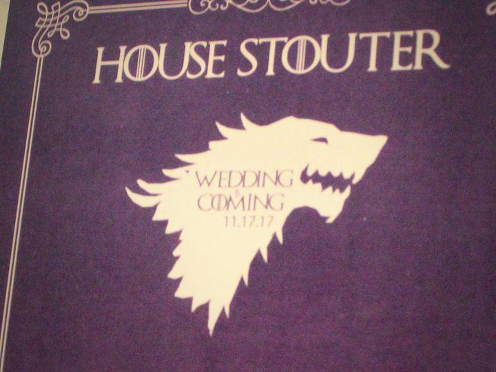 Tmx 1511324057460 Game Of Thrones Wedding Purple Gold 7 West Long Branch wedding invitation
