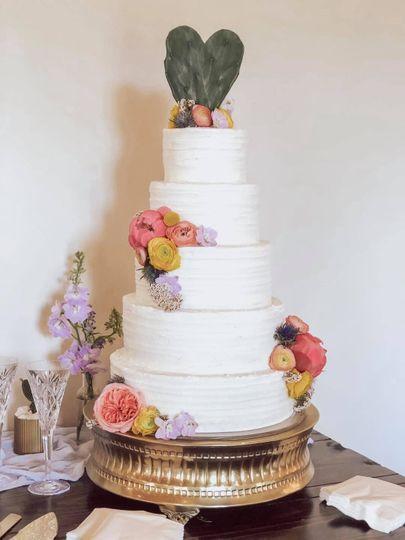 Summer Color Cactus Wedding