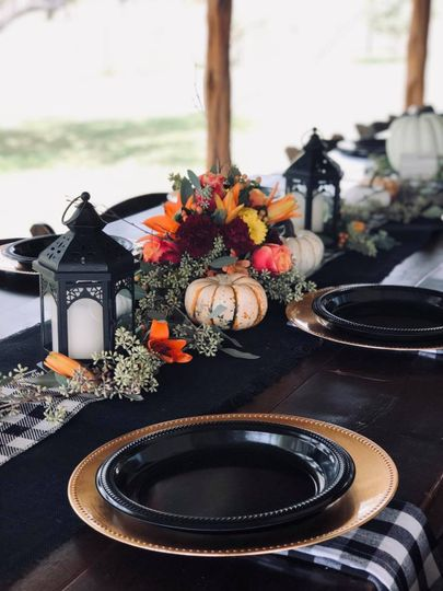 Colorful Fall Bridal Shower