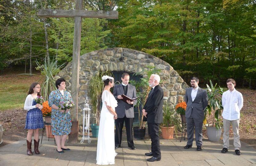 wedding ceremony full party