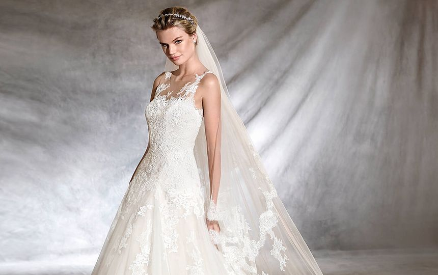 Pronovias Designer Bridal Gown