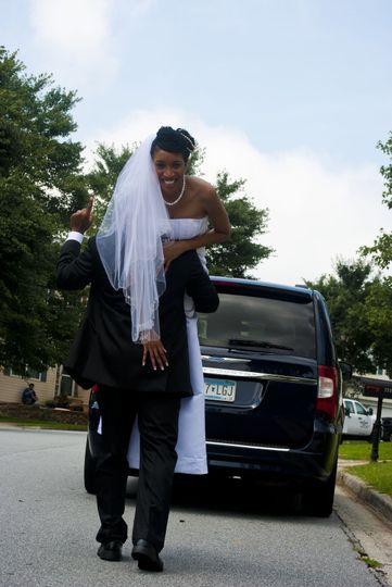 Off to the honeymoon