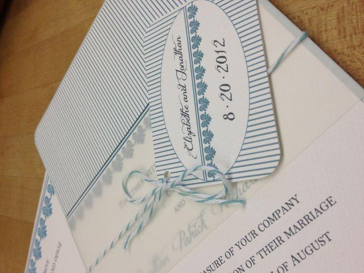 Tmx 1363616404025 IMG0689 Cranston, RI wedding invitation