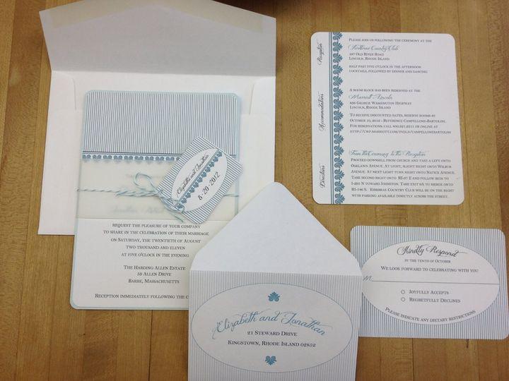 Tmx 1363616479516 IMG0691 Cranston, RI wedding invitation