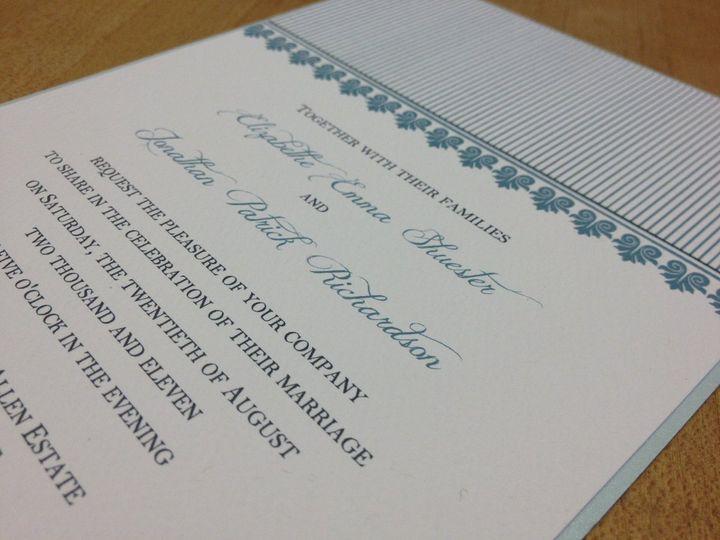 Tmx 1363616502748 IMG0693 Cranston, RI wedding invitation