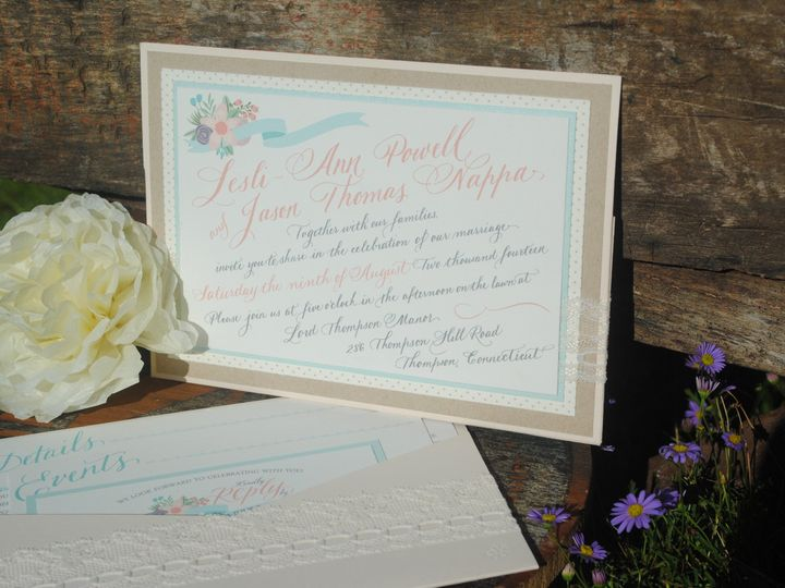 Tmx 1413931493395 Napwed01 Cranston, RI wedding invitation