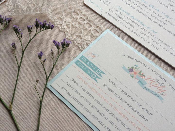 Tmx 1426616850973 Nappa Rsvp Cranston, RI wedding invitation