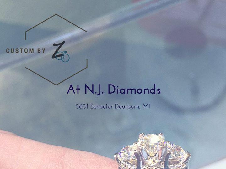 Tmx 3 Stone Custom By Z Facebook 51 615769 1558018448 Dearborn, MI wedding jewelry