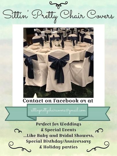 We provide chair covers for all Special Occasions - contact us today!