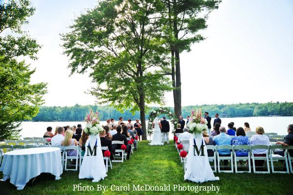 Lakeside Ceremony at the Inn at Woodloch