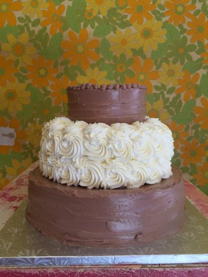 Simply elegant cake