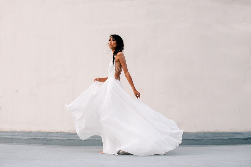 Light and airy gown
