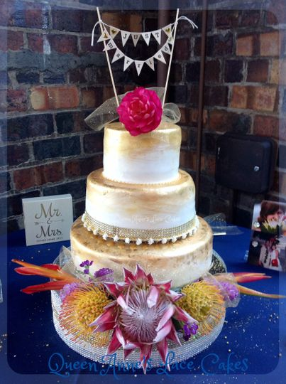 Taste of the Tropics Cake by Queen Anne's Lace Cakes