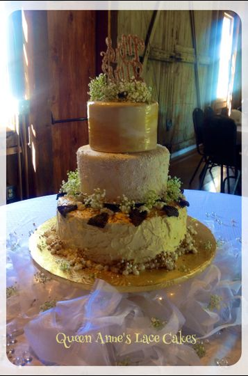 Queen Anne S Lace Cakes Wedding Cake Carroll Oh Weddingwire