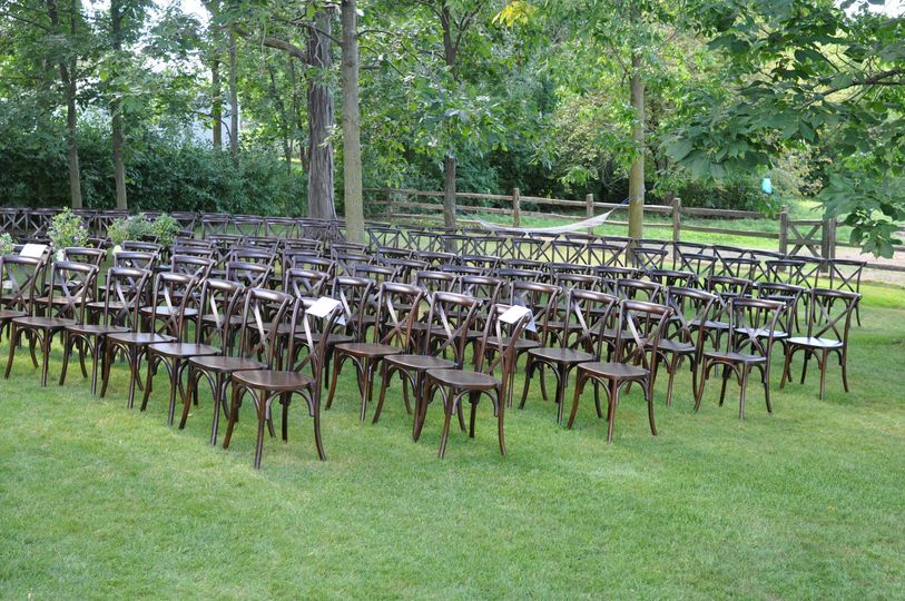 Chairs for the guests