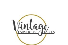 Vintage Farmhouse Tables