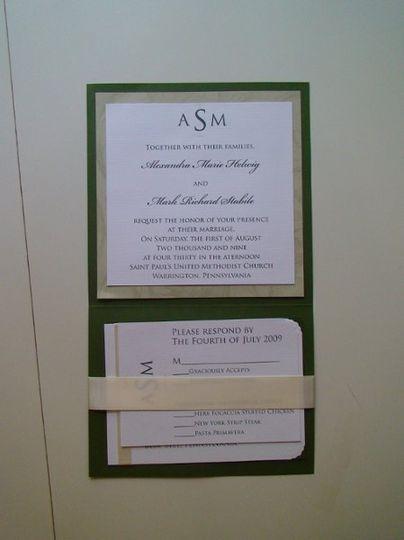 Helwig Invitation inside