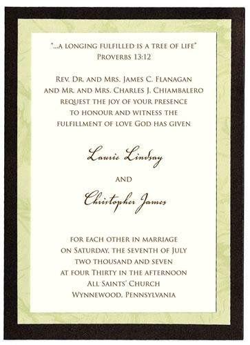 Tmx 1242928878612 05weddinginvitation Verona wedding invitation