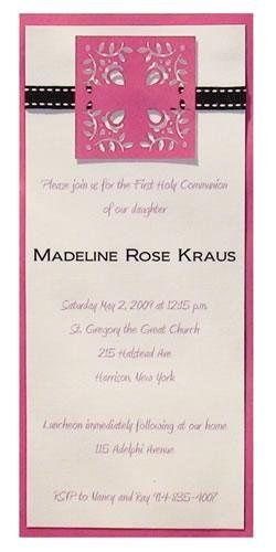 Tmx 1242928928394 Madeline20communion Verona wedding invitation