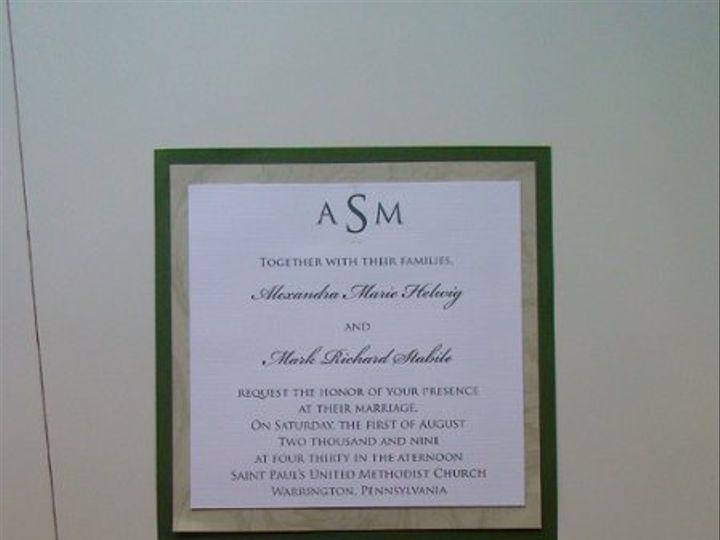 Tmx 1261587550525 DSC01842 Verona wedding invitation