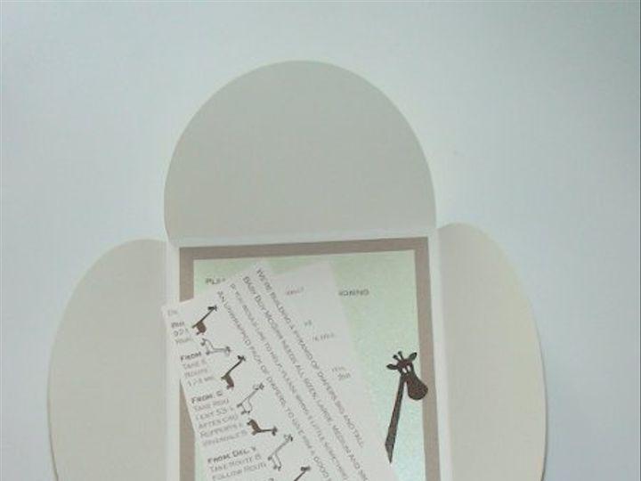 Tmx 1261588584775 DSC01795 Verona wedding invitation