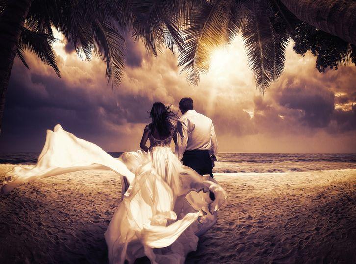 rimas films sunset wedding 1 1