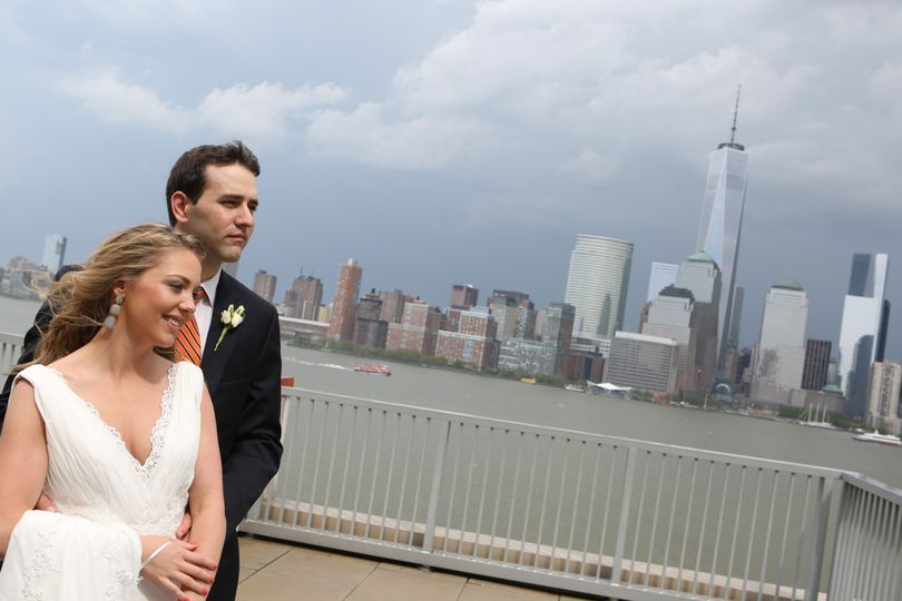 Couple by the Hudson