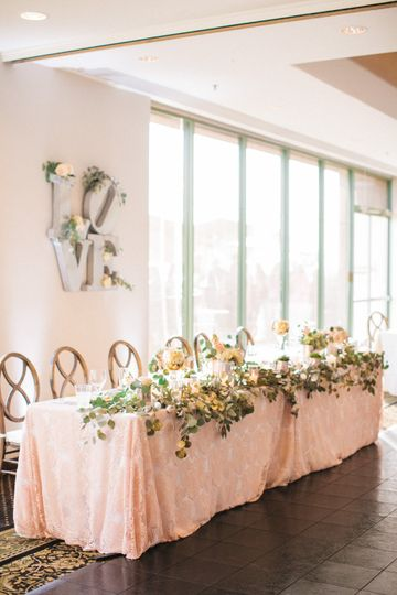 LOVE this head table