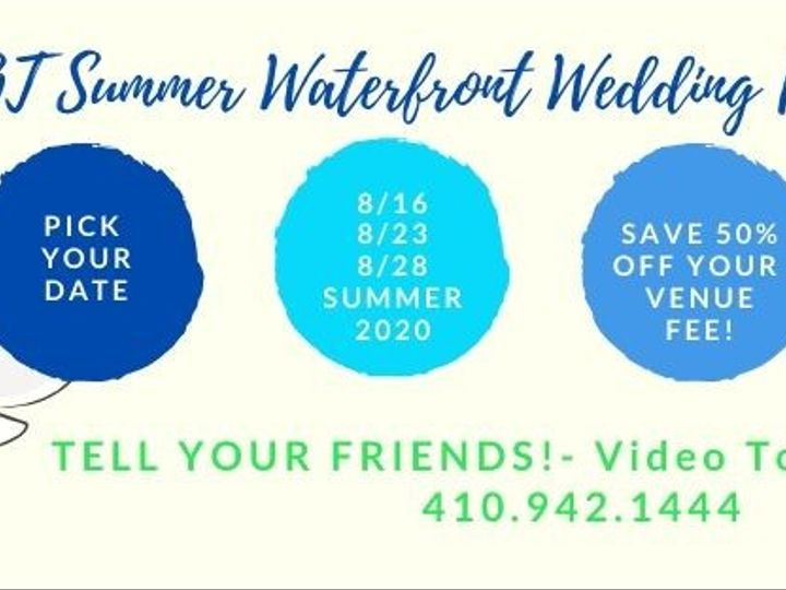 Tmx Hot Summer Deals 2020 51 372869 158516633622617 Havre De Grace, MD wedding venue