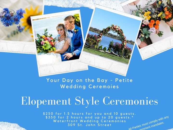Tmx Your Day On The Bay Petite Wedding Ceremoies 1 51 372869 158930020584285 Havre De Grace, MD wedding venue