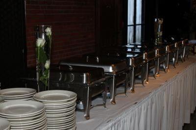 Elegant chafing dishes