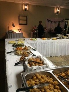 Wedding reception catering at The Venue