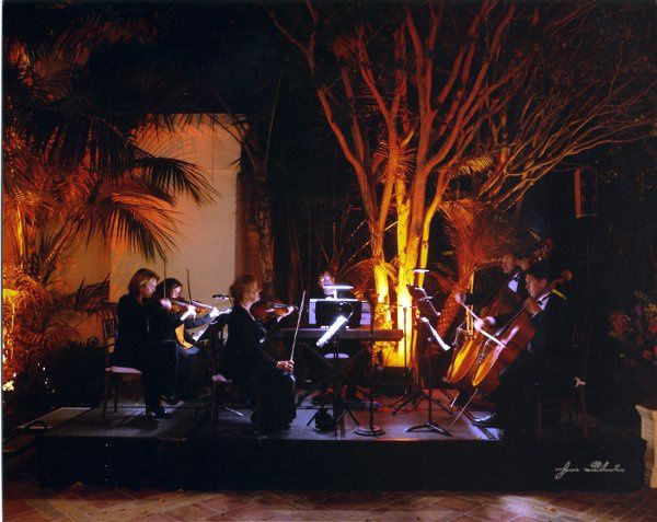 Our sextet playing for a wedding cocktail reception at the Ritz Carlton Resort in Laguna Niguel,...