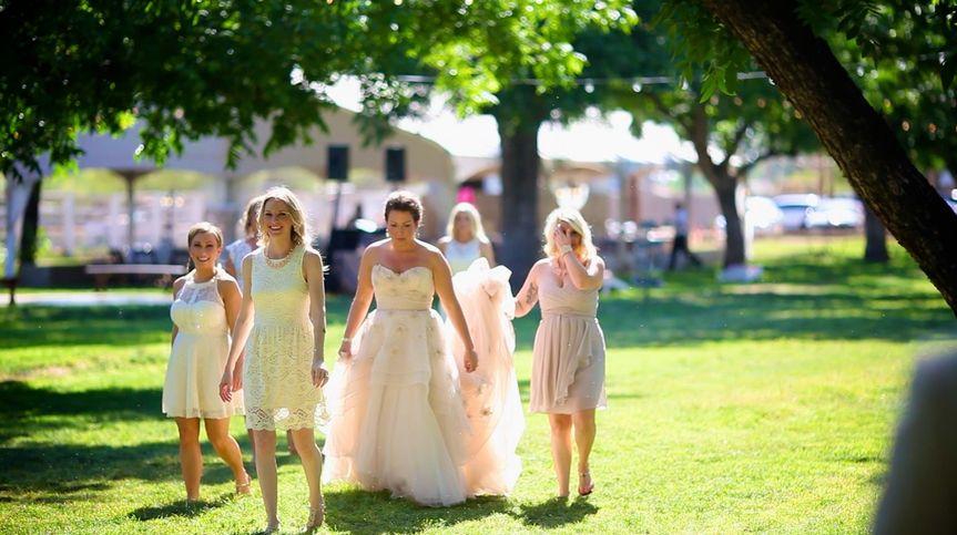 Wedding sunshine