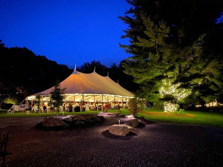 Tent and Tree Lighting