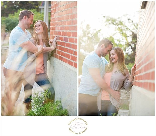 columbus engagement photographer two maries ellen