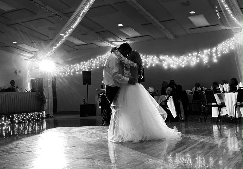 Together on the dance floor