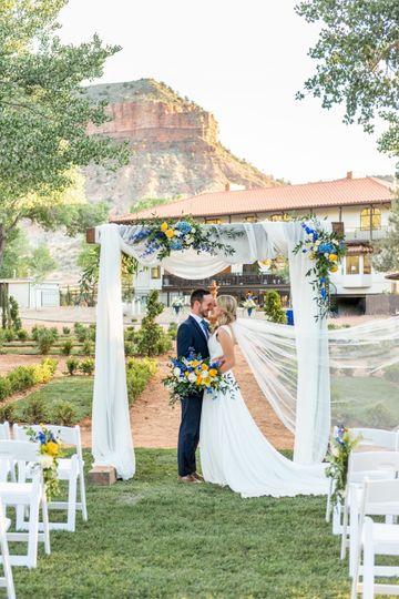 Backyard Ceremony-Villa