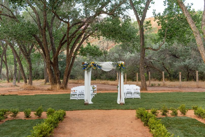 Backyard Ceremony- Villa