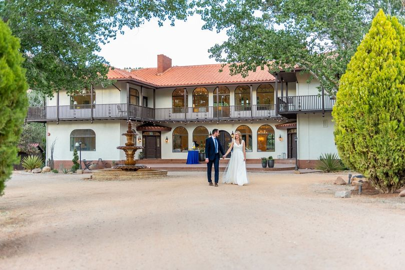 Zion Red Rock Villa Entrance