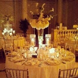 Wedding Centerpiece and Table Styling
